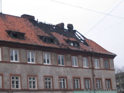 пожар в Советске
