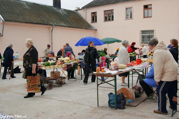 новый мини-рынок в Советске