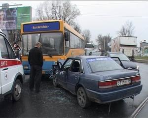 серьезная авария произошла в Калининграде