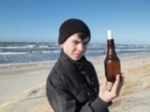 В море на Куршской косе семиклассник нашел бутылку с посланием