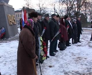 в годовщину штурма Тильзита ветераны собрались вместе