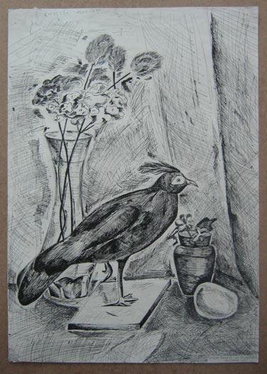 Косарев Алеша - Натюрморт с птицей