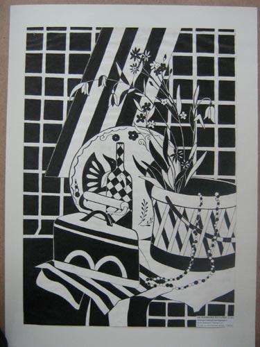 Мельникова Наташа - Декоративный натюрморт