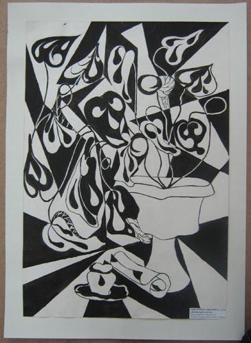 Анисимова Люда - Комнатный цветок