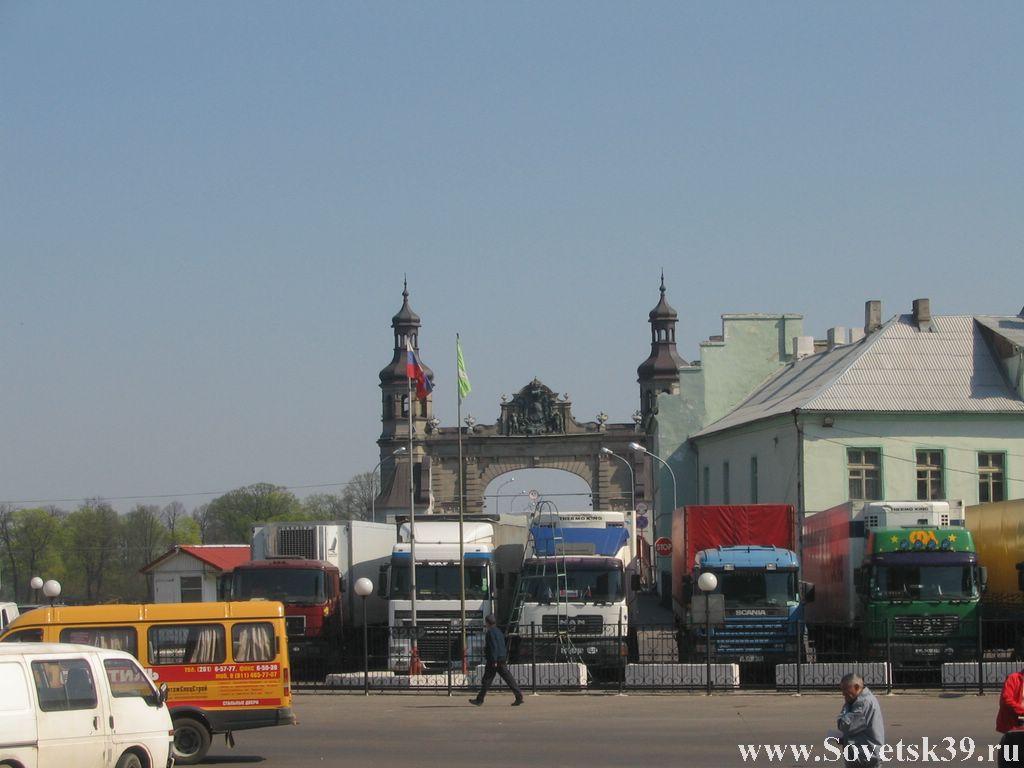 крупнейшее задержание табачных изделий на таможенном посту в Советске