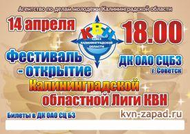 Афиша Фестиваль КВН