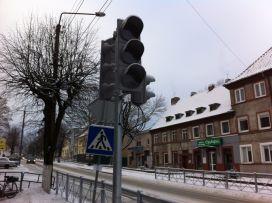 В Советске установили светофоры