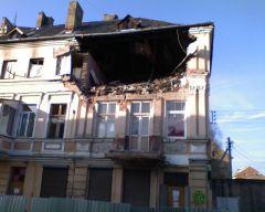 Взрыв в городе