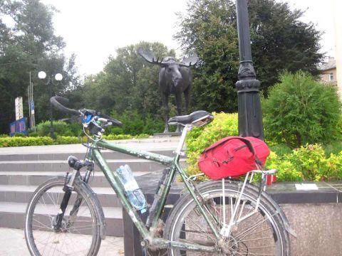 Весенняя велопрогулка к Балтийской АЭС