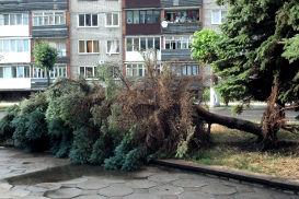 Ураган в Советске